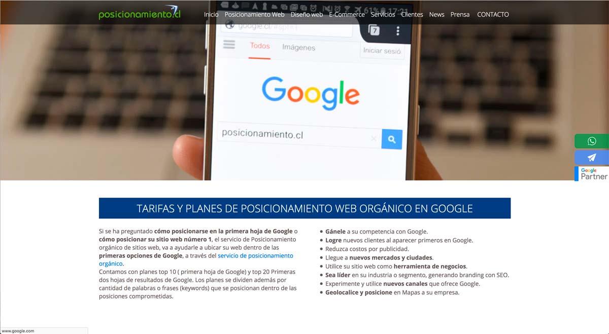 Agencias de diseño web en Chile