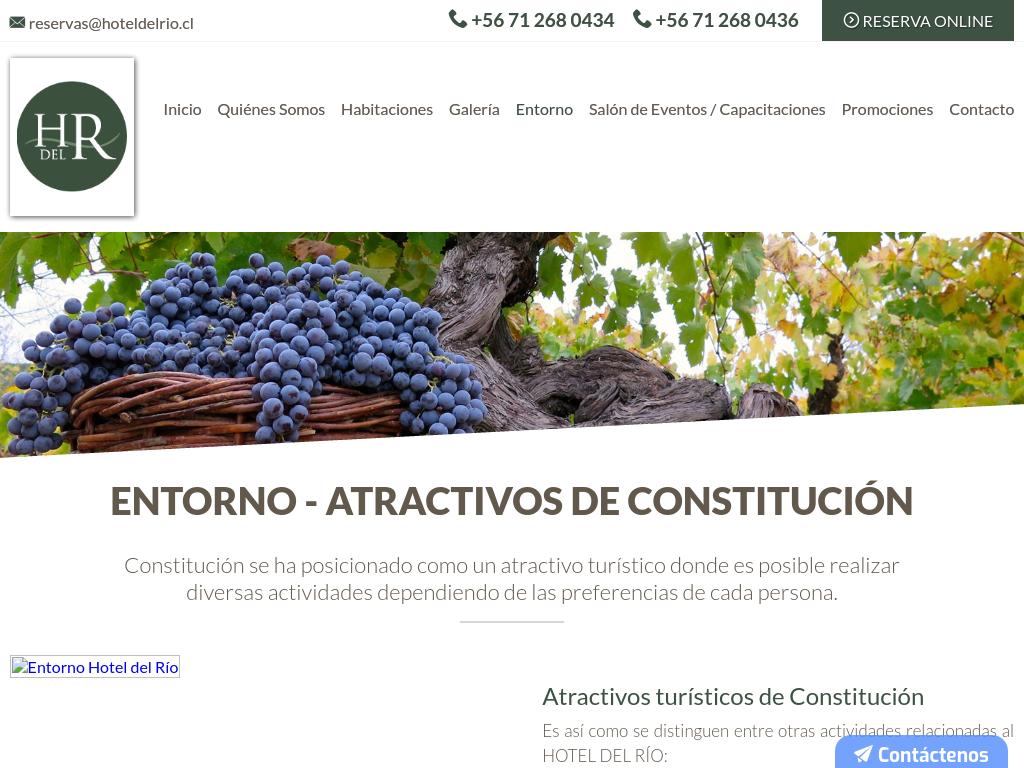 Restaurant en Constitución
