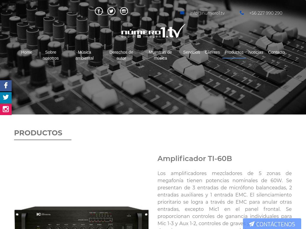 venta amplificadores itc