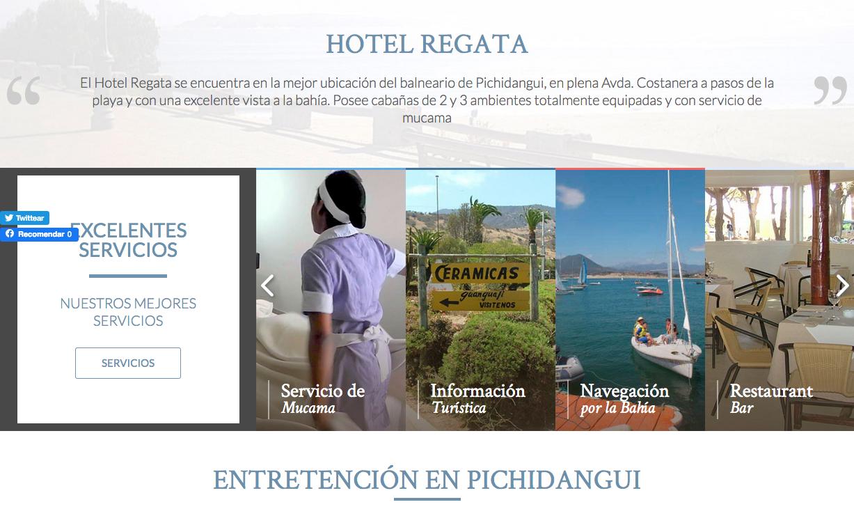 Hotel en Pichidangui