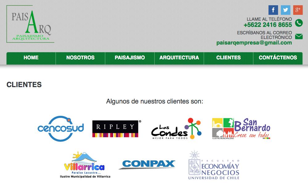Empresas de paisajismo en chile