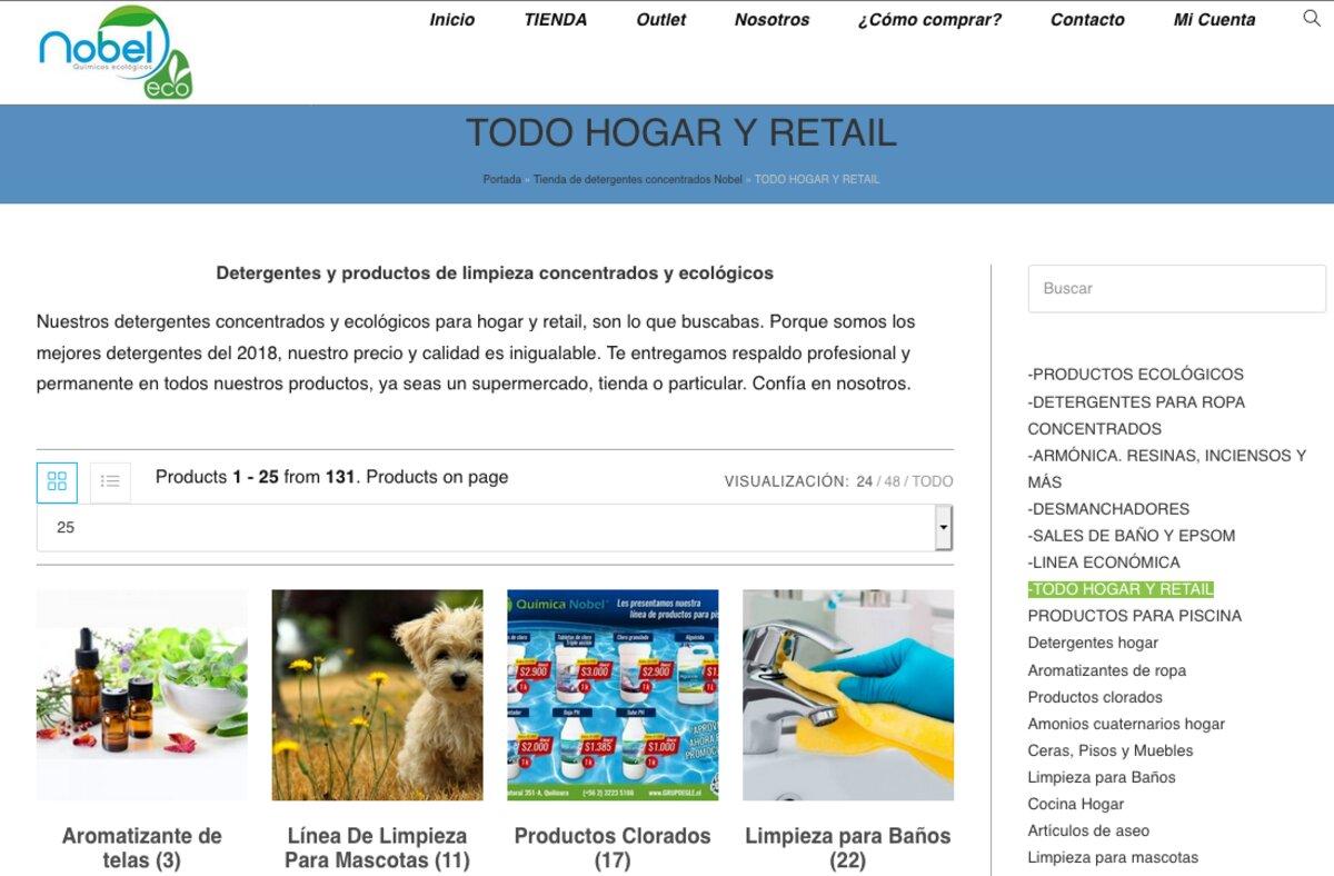 productos ecológicos en santiago