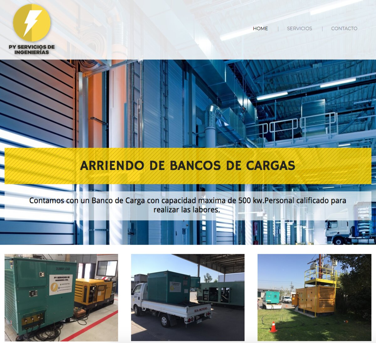 servicio de Banco de Carga en santiago